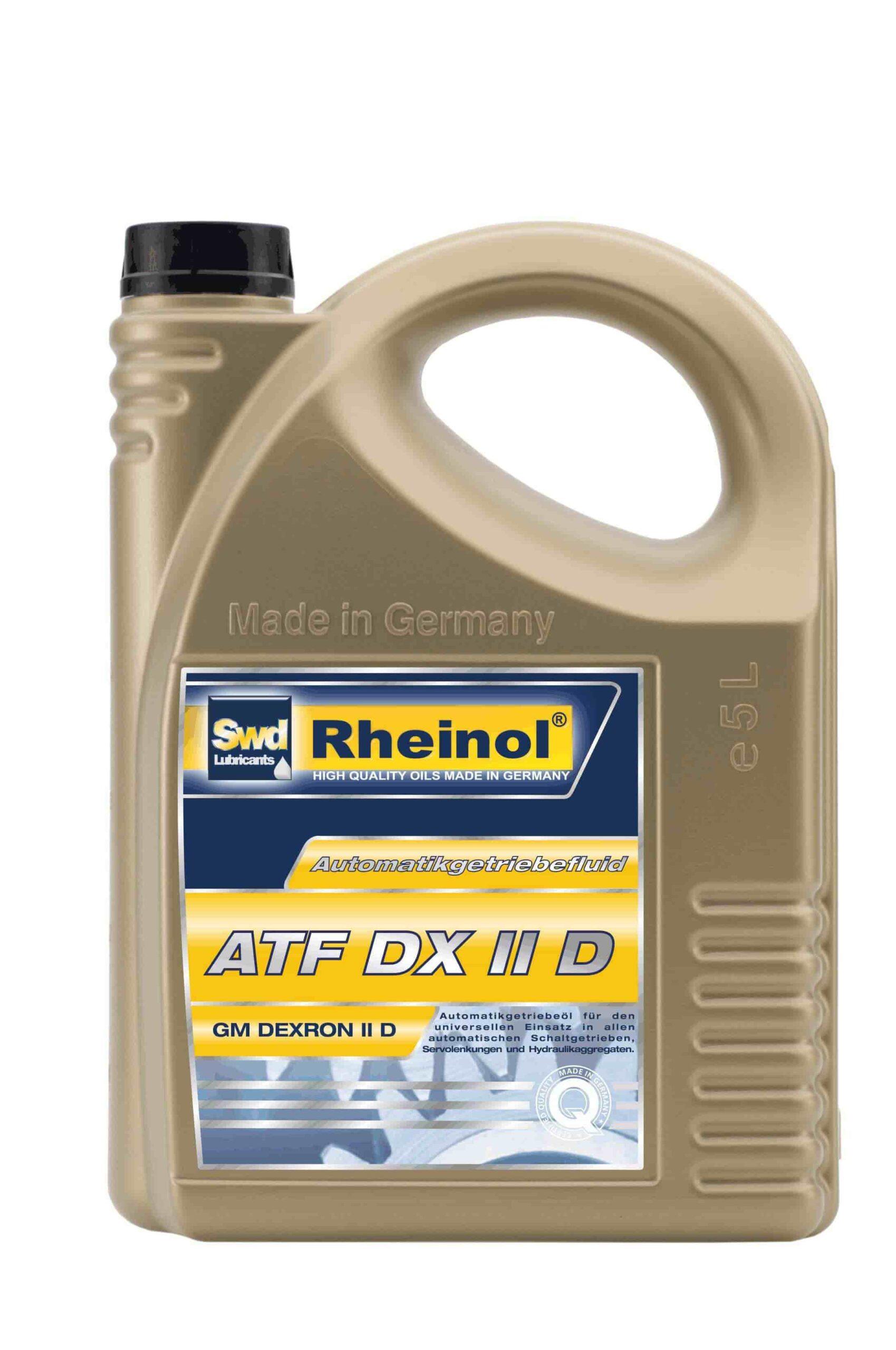 Масло трансмиссионное ATF DX II D