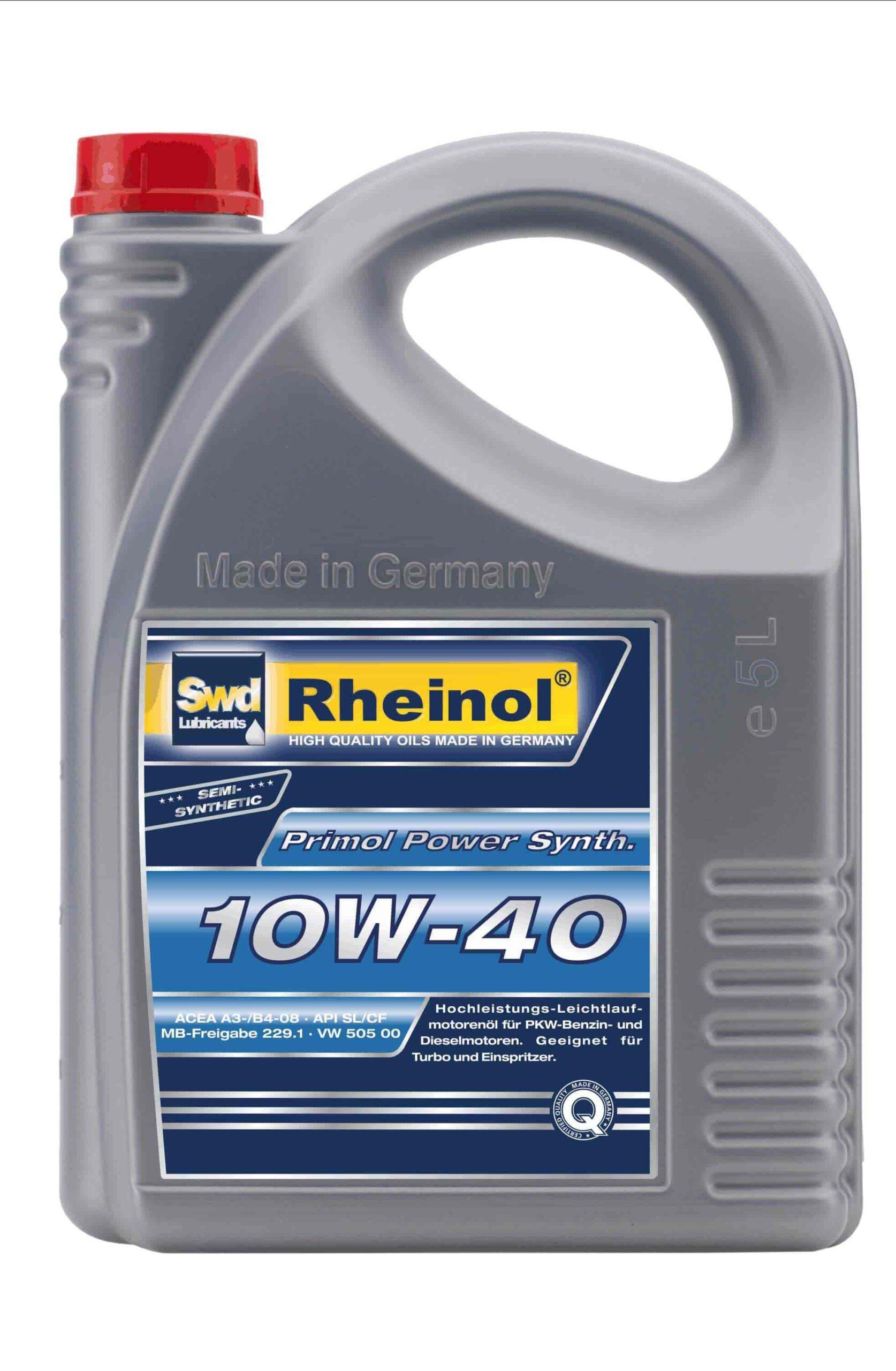Олива моторна Primol Power Synth. 10W40