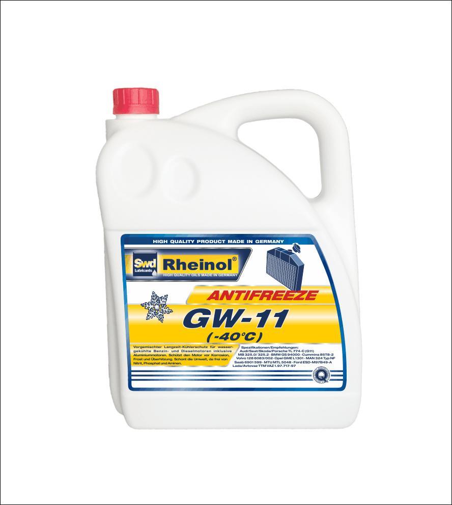 Жидкость охлаждающая Antifreeze GW11 (-40°C)