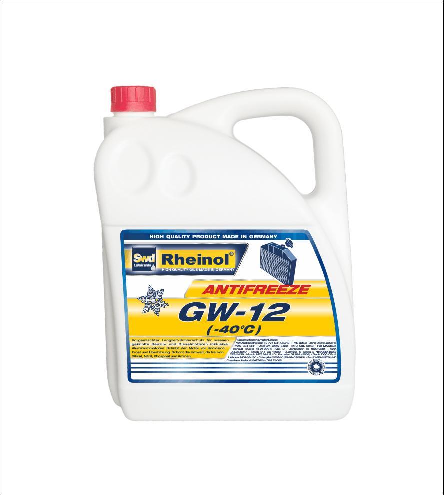 Жидкость охлаждающая Antifreeze GW12 (-40°C)