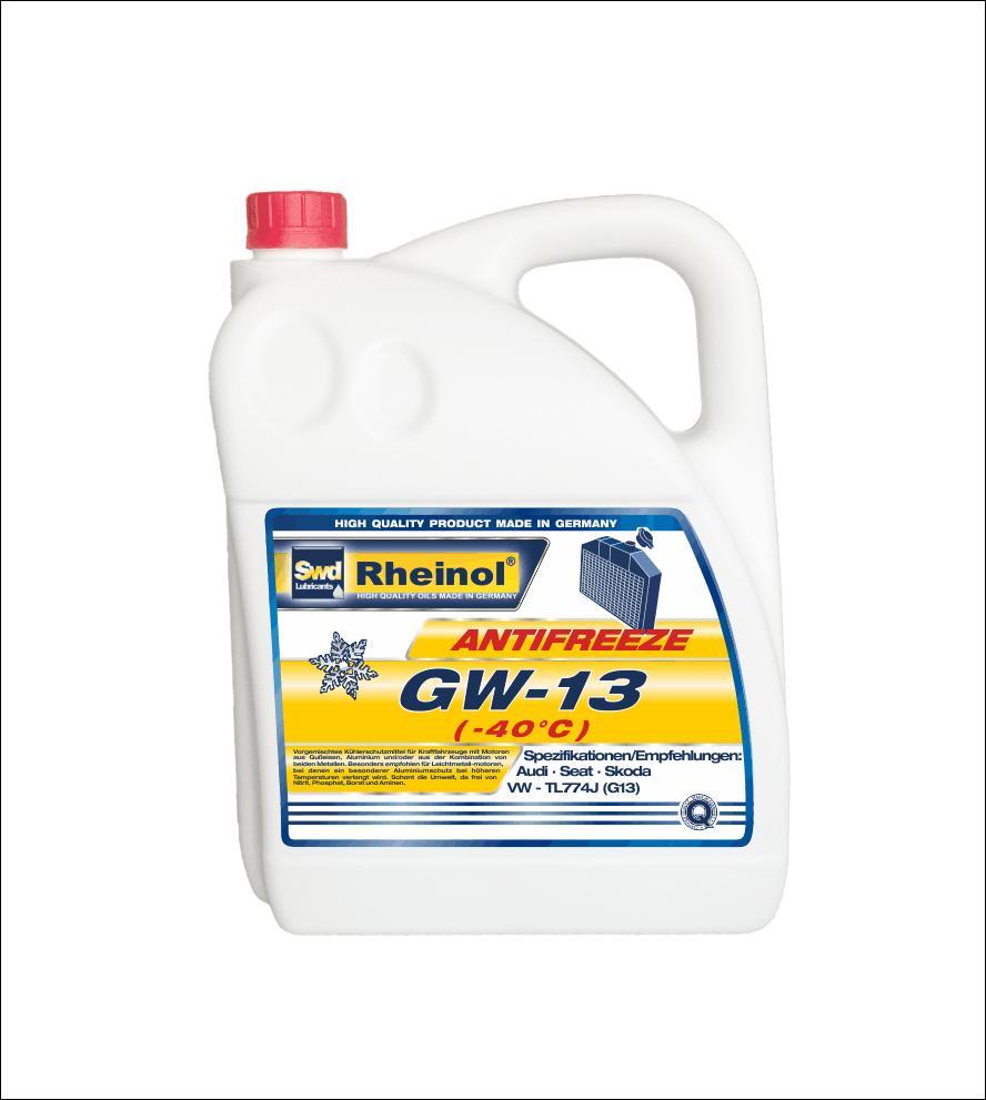 Жидкость охлаждающая Antifreeze GW13 (-40°C)